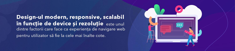 design modern, responsive, scalabil, rezoluție, web, cloudebs